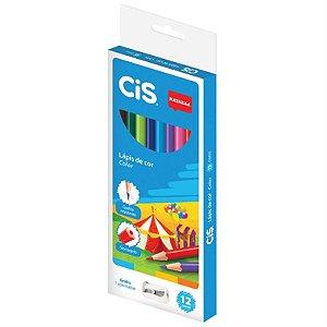 Lápis de cor sextavado 12 cores - Nataraj Cis