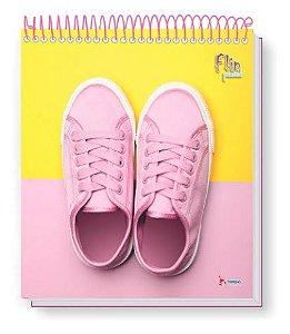 Caderno Flip Pastel 160 FLS (10 MATÉRIAS) Mod. 1