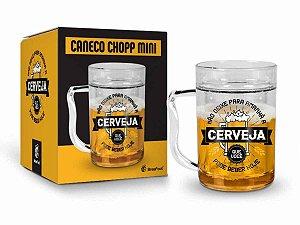 Caneca Gel Cerveja 200ml Brasfoot - Não Deixe Para Amanhã