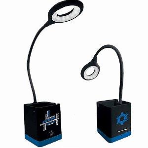 Luminária Flexível Zona Criativa Porta Lápis - Agronomia