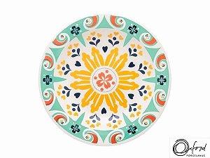 Prato Redondo Fundo 23cm Oxford - Floreal Solar
