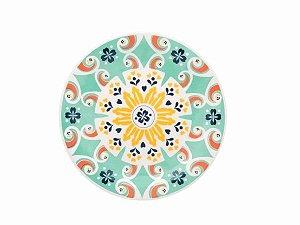 Prato Redondo Sobremesa 20cm Oxford - Floreal Solar