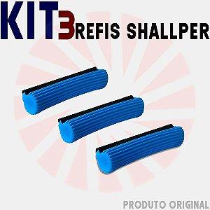 Kit 3 Refis Rodo Shallper Original