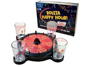 JOGO DE ROLETA UNIKA HAPPY HOUR COM 04 SHOTS