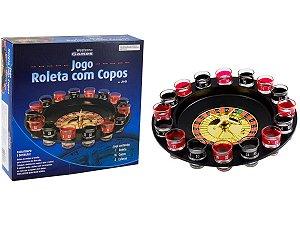JOGO DE ROLETA WESTERN GAMES SHOT COM 16 COPOS