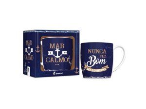 CANECA PORCELANA 360ML URBAN BRASFOOT MAR CALMO