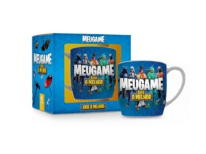 CANECA PORCELANA 360ML URBAN BRASFOOT MEU GAME FORT