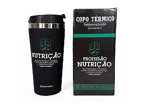 COPO TÉRMICO 450ML VIAGEM ZONA CRIATIVA NUTRIÇÃO