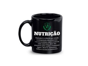 CANECA CERÂMICA REGINA 340ML REF.1262 NUTRIÇÃO