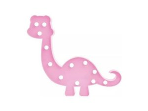 LUMINOSO LED ART HOUSE DINOSSAURO ROSA