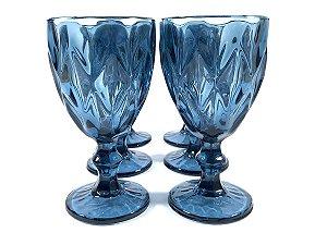 Conjunto 6 Taças Água Diamante 260ml Class Home