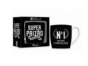 CANECA PORCELANA 360ML URBAN BRASFOOT SUPER PAIZÃO