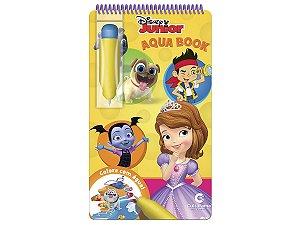 Aqua Book Disney Junior - Livro Colorir Com Água