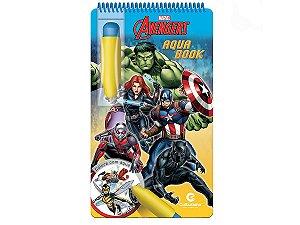 Aqua Book Disney Vingadores - Livro Colorir Com Água