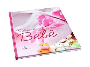 Diário Bebê Anotações Álbum Gestação Menina - Rosa