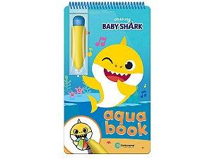 Aqua Book Baby Shark - Livro Colorir Com Água