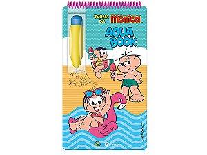 Aqua Book Turma da Mônica - Livro Colorir Com Água