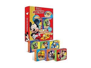 Livro Box De Historias Mickey - c/ 6 Mini Livrinhos
