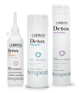 Kit Cadiveu Detox 1 Shampoo + 1 Proteína + 1 Multinutrientes