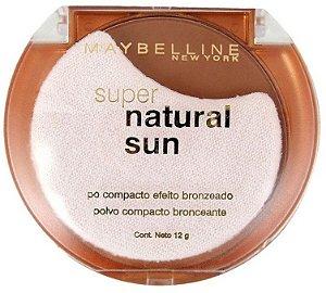 Pó Bronzeador Maybelline Super Natural Sun Cor Sienna Sun