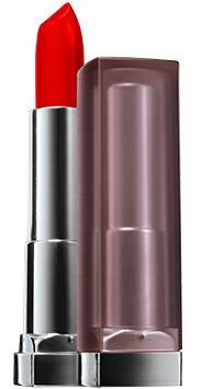 Batom Maybelline Color Sensational Matte Cor Siren in Scarlet