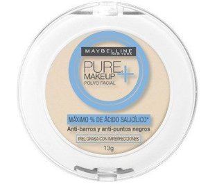 Pó Compacto Facial Maybelline Pure Makeup Cor Claro Natural