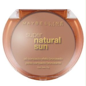 Pó Bronzeador Maybelline Super Natural Sun Cor True Sun