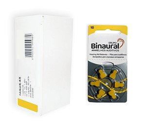 Caixa de Pilha Binaural 10 (230)