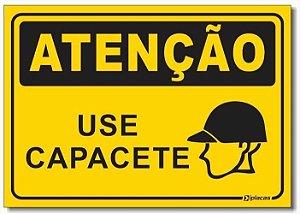 Atenção - Use Capacete