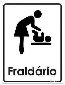 Placa Fraldário