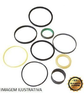 Kit Reparo Estabilizador JCB 214E 3C Camisa 100mm Haste 60mm 991/00145