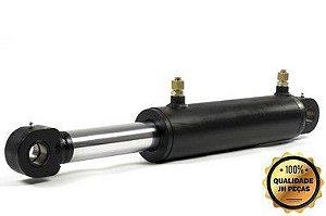 Cilindro Hidraulico Carreta Basculante Comp Fechado 1100mm - Curso 800mm