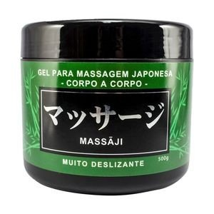 MASSAJI GEL MASSAGEM CORPO A CORPO 500G