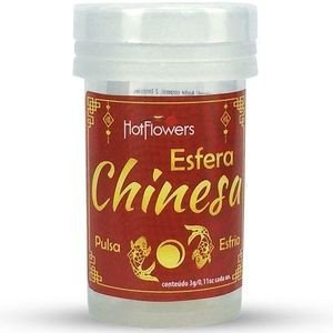 HOT BALL ESFERA CHINESA 2 UNIDADES