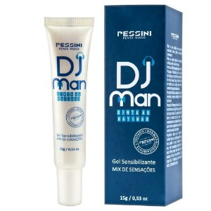 DJ MAN GEL 5 EM 1 EXCITANTE MASCULINO 15GR