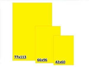 Cartaz Duplex Amarelo liso 3G