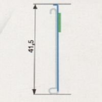 Perfil de Gôndola Universal Modelo 1020