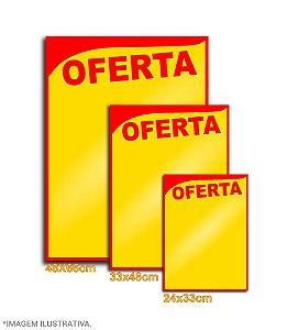 Cartaz Amarelo com Oferta Vermelho Especial