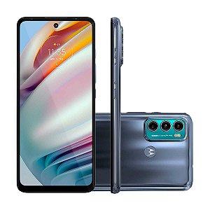 "Smartphone Motorola Moto G60 128GB Azul 4G - 6GB RAM Tela 6,8"" Câm. Tripla + Selfie 32MP"