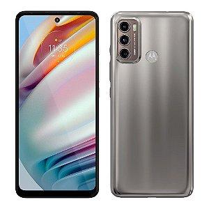 Smartphone Motorola Moto G60 128GB Tela 6.8'' Dual Chip 6GB RAM Câmera Tripla + Selfie 32MP - Champagne