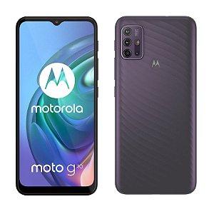 Smartphone Motorola Moto G10, 64GB, RAM 4GB, Octa-Core, Câmera Quádrupla, 5000mAh, Cinza Aurora - PAMM0018BR