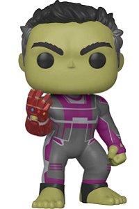 Funko Pop Hulk Nano Manopla Do Infinito Vingadores Ultimato (Super Sized Pop) #478