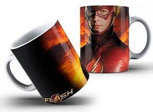 Caneca de Porcelana 325ml Personalizada The Flash