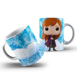 Caneca de porcelana Funko Pop Frozen - 211315