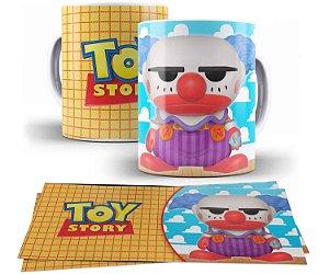 Caneca de Porcelana 325ml Personalizada Funko Chuckles - Toy Story