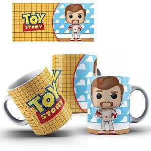 Caneca de Porcelana 325ml Personalizada Funko Duke Caboom - Toy Story