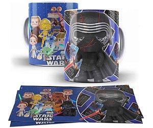 Caneca de Porcelana Funko Pop Star Wars Kylo Ren - 211365