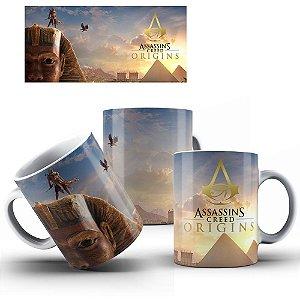 Caneca de Porcelana 325ml Personalizada Assassin's Creed Origins
