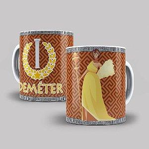 Caneca de Porcelana 325ml Personalizada Deméter