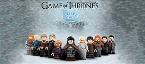 Caneca de Porcelana 325ml Personalizada Game of Thrones Lego